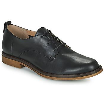 Cipők Női Oxford cipők San Marina MASSILIA Fekete