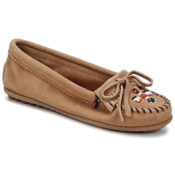 Cipők Női Mokkaszínek Minnetonka THUNDERBIRD II Tópszínű