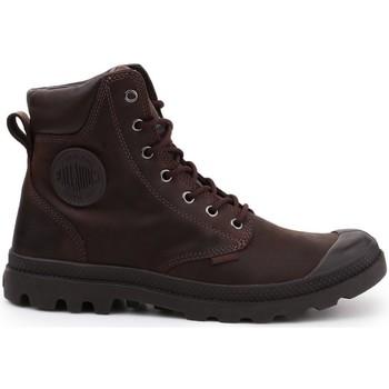Cipők Női Magas szárú edzőcipők Palladium Manufacture Pampa Cuff WP Lux Barna