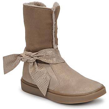 Cipők Lány Városi csizmák GBB EVELINA Bézs