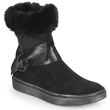 Cipők Lány Városi csizmák GBB EVELINA Fekete