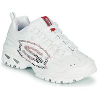 Cipők Női Rövid szárú edzőcipők Skechers ENERGY/SKY VISION Fehér