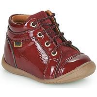 Cipők Lány Magas szárú edzőcipők GBB OMANE Bordó