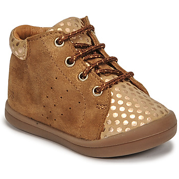 Cipők Lány Magas szárú edzőcipők GBB NAHIA Barna