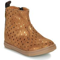 Cipők Lány Csizmák GBB ERNA Barna