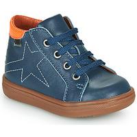 Cipők Fiú Magas szárú edzőcipők GBB DOMINICO Kék