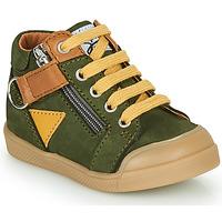Cipők Fiú Magas szárú edzőcipők GBB TIMOTHE Zöld