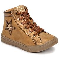 Cipők Lány Magas szárú edzőcipők GBB TADEA Barna