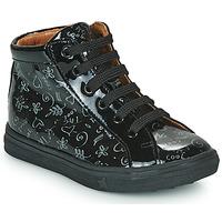 Cipők Lány Magas szárú edzőcipők GBB PHILEMA Fekete
