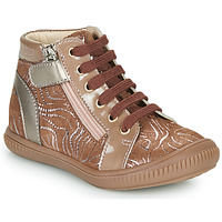Cipők Lány Magas szárú edzőcipők GBB RACHIDA Bézs