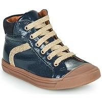 Cipők Lány Magas szárú edzőcipők GBB VIVENA Kék