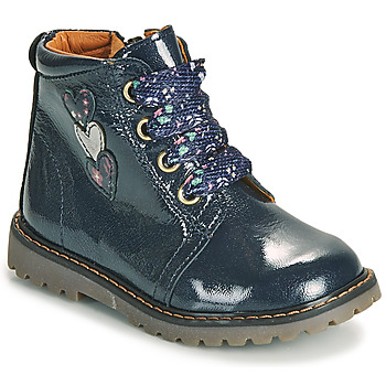 Cipők Lány Magas szárú edzőcipők GBB MOIRA Kék