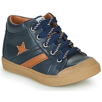 Cipők Fiú Magas szárú edzőcipők GBB LEON Kék