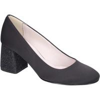 Cipők Női Félcipők Olga Rubini Decollete Raso Nero