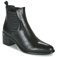 Cipők Női Bokacsizmák Adige DIVA V1 VEAU GARNET NOIR Fekete