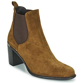 Cipők Női Bokacsizmák Adige FANNY V1 CHEV VEL NOIX Barna