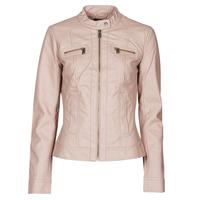 Ruhák Női Bőrkabátok / műbőr kabátok Only ONLBANDIT Rózsaszín