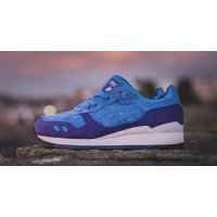 Cipők Rövid szárú edzőcipők Asics Gel Lyte 3 Solstice Mid Blue/Mid Blue
