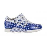 Cipők Rövid szárú edzőcipők Asics Gel Lyte 3 x Colette Dark Blue/White