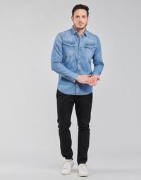 Ruhák Férfi Chino nadrágok / Carrot nadrágok G-Star Raw VETAR SLIM CHIN Fekete
