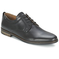 Cipők Férfi Oxford cipők Schmoove DIRTYDANDY STATION Fekete