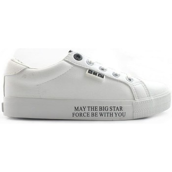 Cipők Női Rövid szárú edzőcipők Big Star EE274316 Fehér