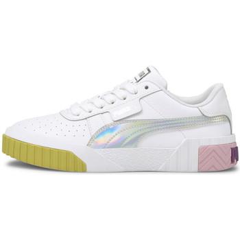Cipők Lány Rövid szárú edzőcipők Puma Cali bubbles Fehér