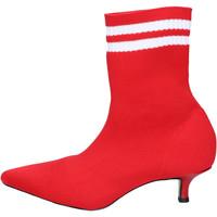 Cipők Női Bokacsizmák Olga Rubini Stivaletti Tessuto Rosso