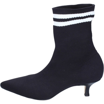 Cipők Női Bokacsizmák Olga Rubini BJ428 Fekete