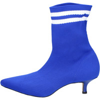 Cipők Női Bokacsizmák Olga Rubini Stivaletti Tessuto Blu