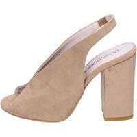 Cipők Női Szandálok / Saruk Olga Rubini Sandali Camoscio sintetico Beige