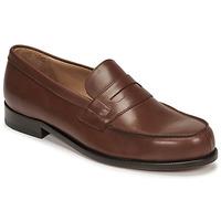 Cipők Férfi Mokkaszínek Pellet Colbert Barna