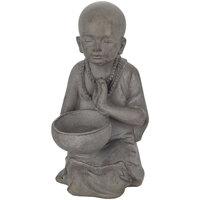 Otthon Szobrok, figurák Signes Grimalt Kis Buddha Pocillo Gris
