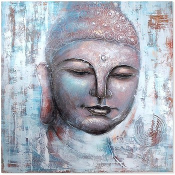 Otthon Képek, vásznak Signes Grimalt Buddha Box Multicolor