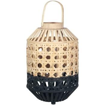 Otthon Lámpások Signes Grimalt Természetes Bambusz Lámpa Negro