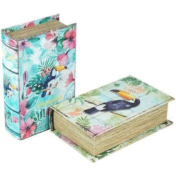 Otthon Rekeszek és tárolók Signes Grimalt Papír Box Szeptember 2 Units Multicolor