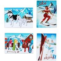 Otthon Karácsonyi dekorációk Signes Grimalt Snow Mágneses Szeptember 4 U Multicolor