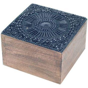 Otthon Kosarak és dobozok Signes Grimalt Négyzet Alakú Ékszerdoboz Negro