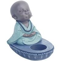 Otthon Gyertyatartók Signes Grimalt Buddha T-Lite Azul