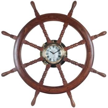 Otthon Órák Signes Grimalt Wheel Clock Marrón