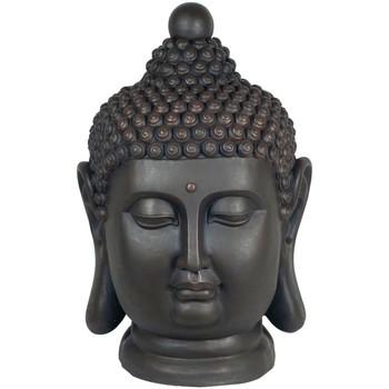 Otthon Szobrok, figurák Signes Grimalt Magnézium Buddha Fej Negro