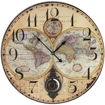 Otthon Órák Signes Grimalt Térképes Órák Beige