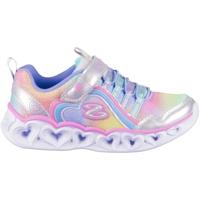 Cipők Lány Rövid szárú edzőcipők Skechers Heart Lights Rainbow Lux