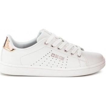 Cipők Női Rövid szárú edzőcipők Big Star DD274583 Fehér