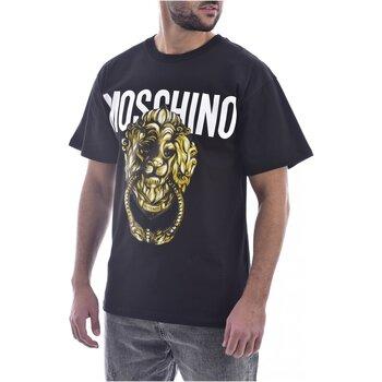 Ruhák Férfi Rövid ujjú pólók Moschino ZA0716 Fekete