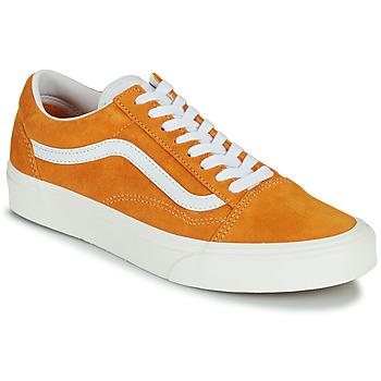 Cipők Női Rövid szárú edzőcipők Vans UA OLD SKOOL Narancssárga