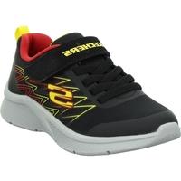 Cipők Gyerek Rövid szárú edzőcipők Skechers Microspec Texlor Fekete