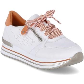 Cipők Női Rövid szárú edzőcipők Remonte Dorndorf D131380 Fehér