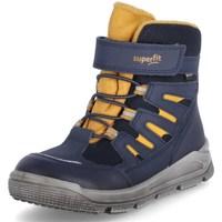 Cipők Gyerek Magas szárú edzőcipők Superfit Mars Kék