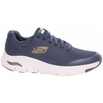 Cipők Férfi Rövid szárú edzőcipők Skechers Arch Fit Kék